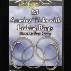 25 Amazing Magic Tricks with Linking Rings. DVD