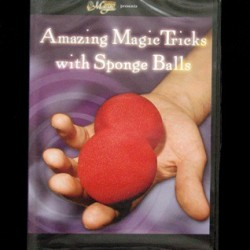 AMAZING MAGIC TRICKS WITH SPONGE BALLS. DVD
