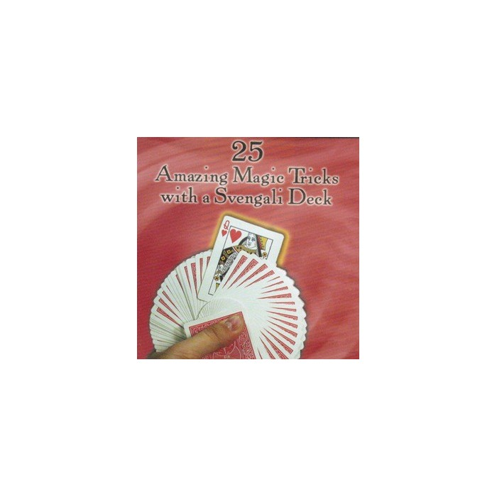 25 AMAZING MAGIC TRICKS WITH A SVENGALI DECK. DVD