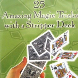 25 Amazing Trick with a Stripper Deck DVD