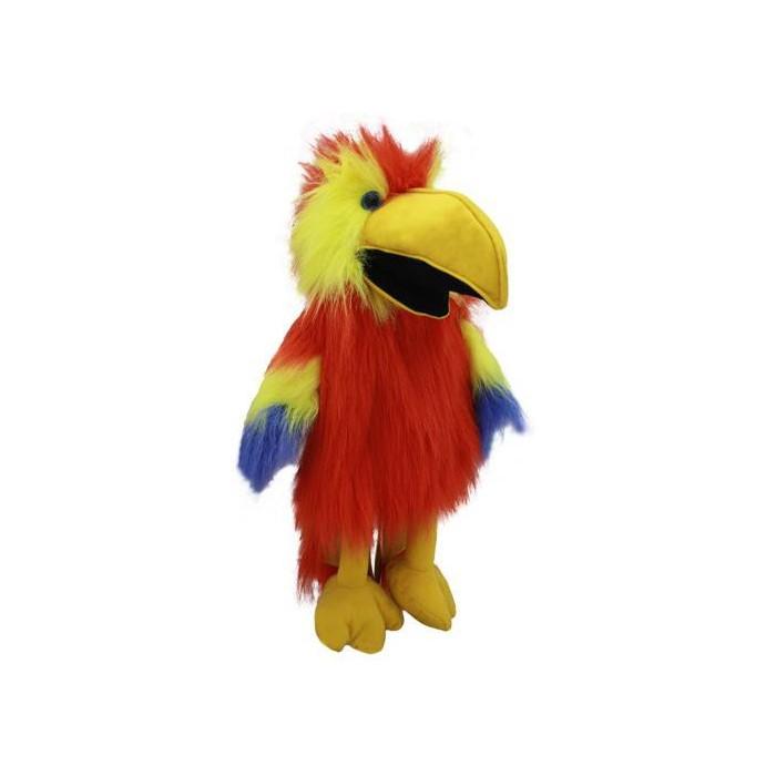 Bugtalerdukke Papegøje