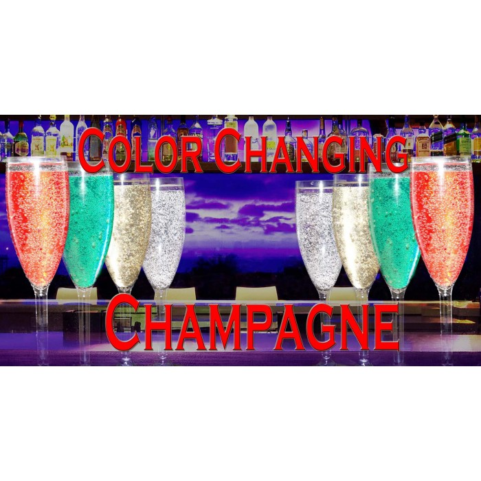 Color Changing Champagne