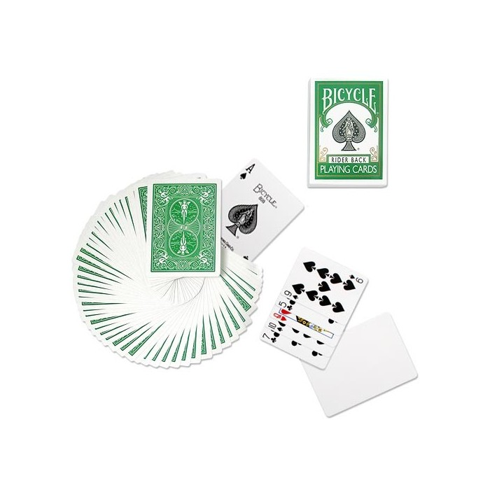 Bicycle Poker Deck - Green Back