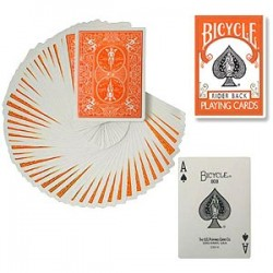 Bicycle Poker Deck - Orange Deck