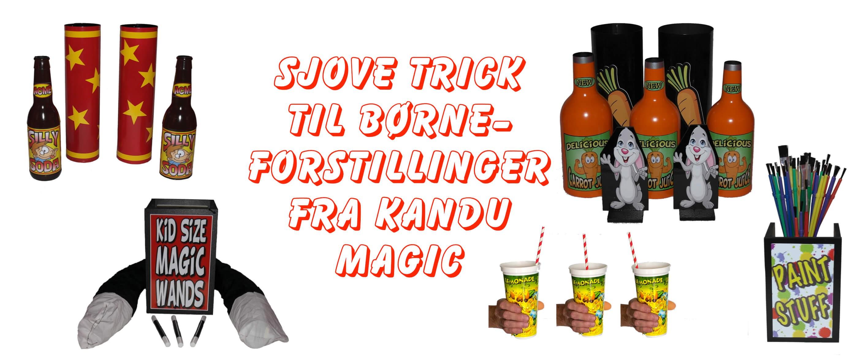 Sjove trick fra Kandu Magic